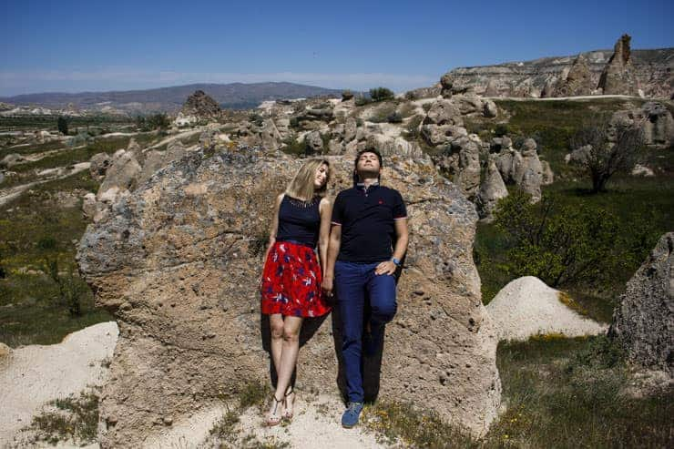 cappadocia pre wedding photographer turkey
