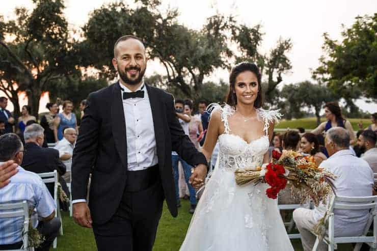 country wedding photography in Korineum Kyrenia