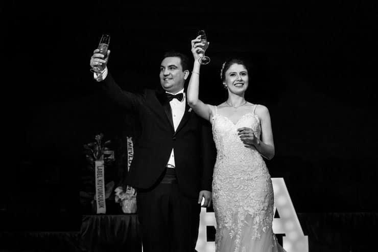 Izmir Guzelbahce Covid 19 Wedding Photos