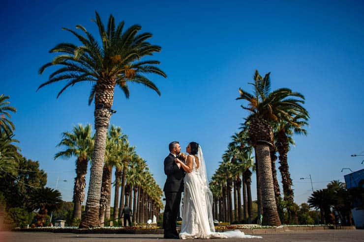 Izmir Turkey Pandemic Wedding Shooting