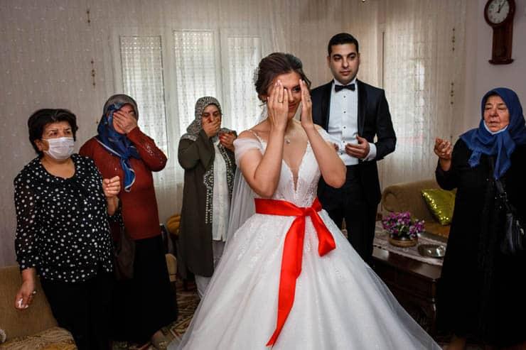 Izmir Karsiyaka Zubeyde Hanim Nikah Fotograflari