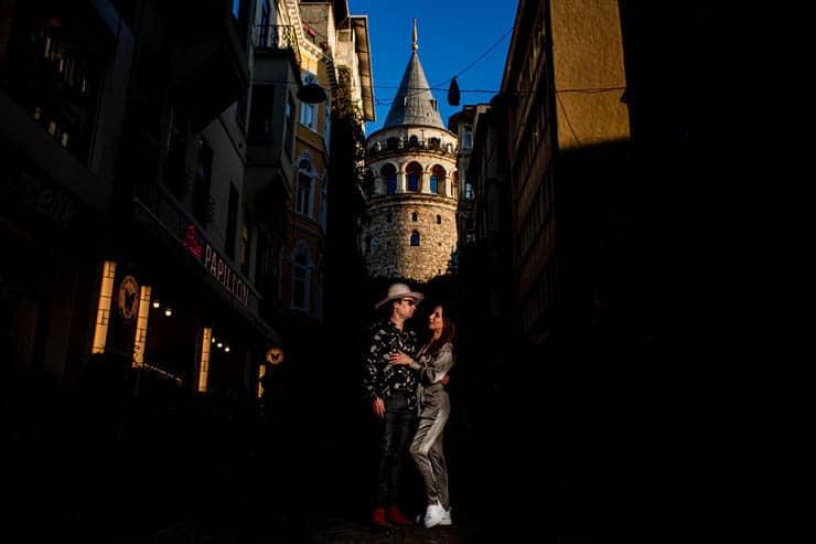 istanbul outdoor pre wedding photoshoot