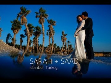 Sarah & Saad Istanbul Suma Beach Wedding Video