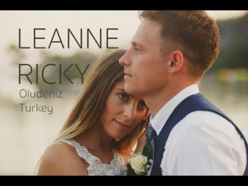 Leanne+Ricky, Sea Horse Beach Wedding, Oludeniz, Turkey