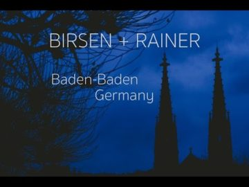 Germany Baden-Baden Wedding Video