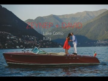 Zeynep+David, Villa Pliniana Wedding Video at Como Lake