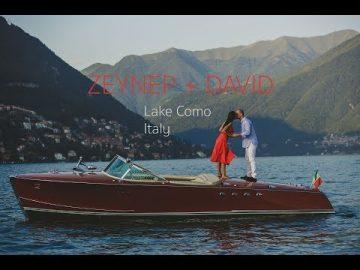 Zeynep+David, Villa Pliniana Wedding Video at Como Lake