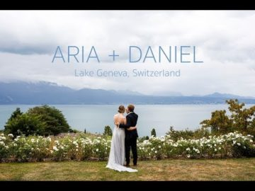 Lausanne Lake Geneva Wedding Video