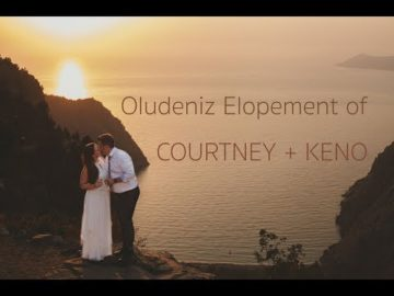 Turkey, Oludeniz Elopement of Courtney+Keno