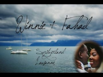 Winnie and Fahad Wedding Day - Lausanne Swtzerland
