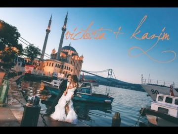 victoria + kazim in istanbul wedding video