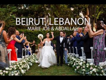 Sursock Palace Wedding Video, Beirut Lebanon
