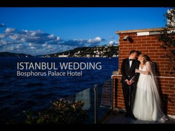 Istanbul Bosphorus Palace Wedding Videography
