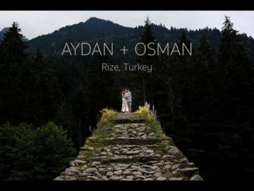 Aydan & Osman Rize Pazar-Hemsin Dugun Videosu