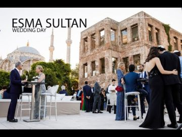 Istanbul, Esma Sultan Wedding Video