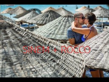 Izmir Cesme Fun Beach Dugun Video - Sinem+Rocco
