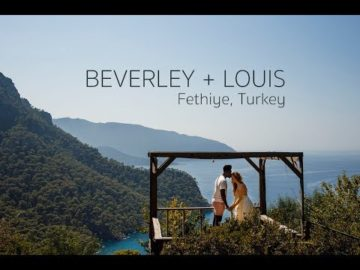 Beverly & Louise, Turkey Fethiye Help Beach Wedding Video