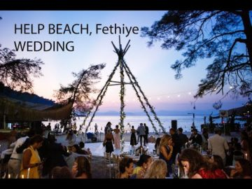 A Lebanese Wedding at Fethiye Help Beach