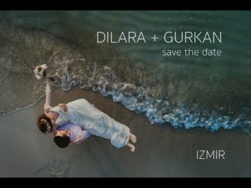 izmir cesme save the date drone video - dilara gurkan